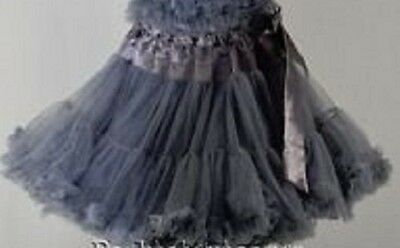 NWT KAIYA EVE tulip Ruffled tutu Pettiskirt s 4 6 8 10 12y.old made in USA PS301