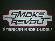 SMOKE REVOLT T SHIRT American Made E Liquid Vape Electronic Cigarette Store Ohio