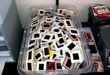 Lot of 100 Random Vintage 35mm Color Slides Kodak Red & White Border 1950-1980