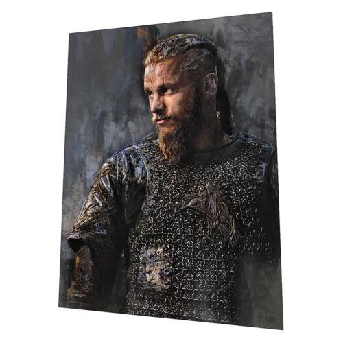"Vikings /""Ragnar Lothbrok/"" Wall Art Graphic Art Poster"