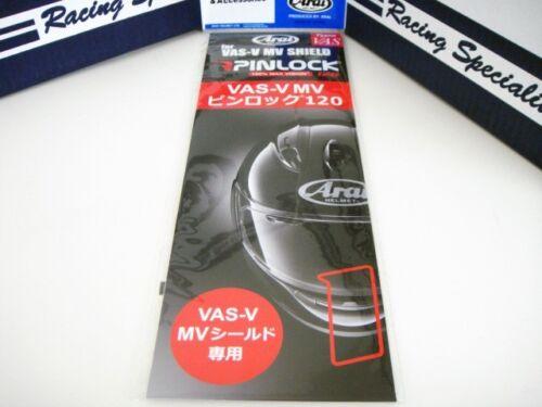 Arai VAS-V Max-V Pinlock Sheet Insert VAS-V Max-V Shield RX-7X Corsair-X RX-7V