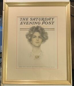 "22"" x 18"" Norman Rockwell ""The Saturday Evening Post Sept. 9, 1911"" Framed Print"