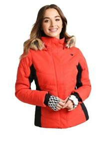 Women's 4 Obermeyer Red Tuscany II Lined Insulated Snow ...