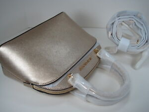 0392a6b45871 Image is loading MICHAEL-MICHAEL-KORS-EMMY-SM-DOME-SATCHEL-SHOULDER-