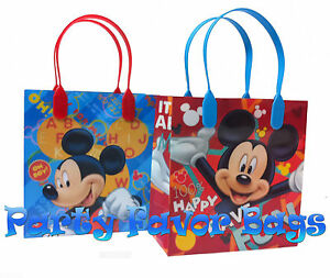 Image Is Loading 30 Pc Mickey Mouse Party Favor Bags Candy