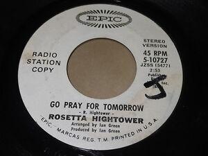 Rosetta-Hightower-Go-Pray-For-Tomorrow-Stereo-Same-Mono-45-Gospel-Soul