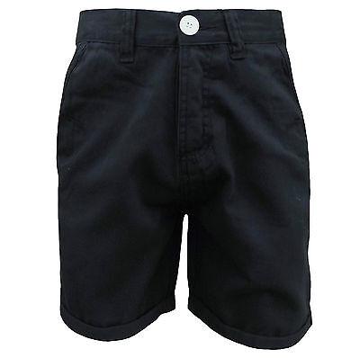 Soul Star Men's Melton Chino Button Fly Shorts Navy Bestellungen Sind Willkommen.