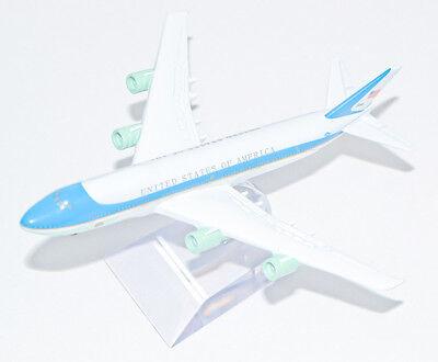 Sporting Air Force One President America Usa Boeing 74716cm Metal Plane Model Stand 16 Cm Om Een Gevoel Op Gemak En Energiek Te Maken