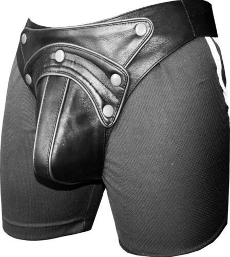 String en cuir Slip String Lederhose Slip d/'athlète Leder Pantalon Jock Strap Jock Strap