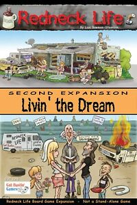 Redneck Life Board Game Expansion: Livin' the Dream