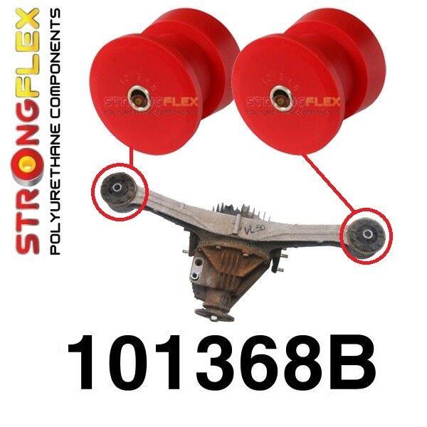 2 Silentblocs polyuréthane support diférentiel arrière Mazda MX-5, NA NB