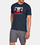 thumbnail 5 - New With Tags Under Armour Men's Logo Tee Top Athletic Muscle Gym Shirt