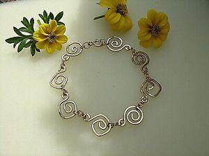 Gold Armband Mit Spiralen, Gold 585