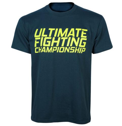UFC TUF 20 Men/'s Training Tee Dark Teal