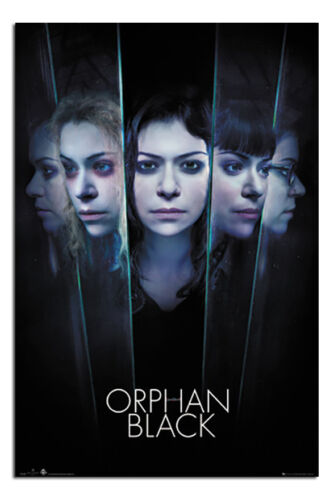 Orphan Black Faces Poster New Maxi Size 36 x 24 Inch