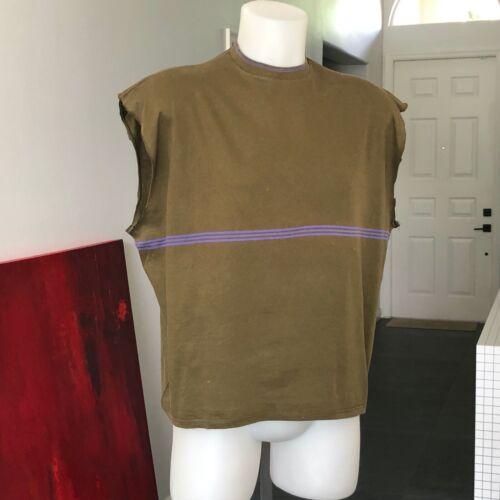 JUNIOR GAULTIER men's cotton sleeveless t-shirt gr