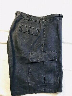 Polo Ralph Lauren Mens Dress Pants 42x32 Dark Gray Tic Pattern Pleated NWT