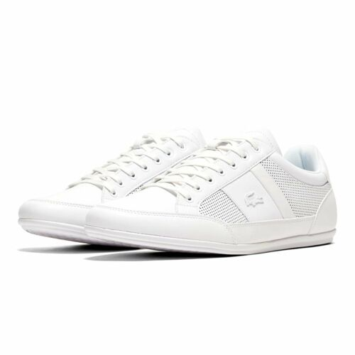 Lacoste Chaymon 120 White Trainers