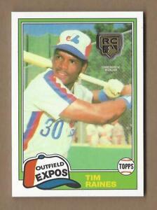TIM-RAINES-2020-Topps-Retrospective-Medallion-Rookie-Card-Montreal-Expos