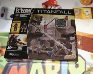 2019 Nouveau Style Nouveau K 'nex-titanfall-militia Pilot Attack-building Set-usa 2014 Ps4 Xbox-afficher Le Titre D'origine