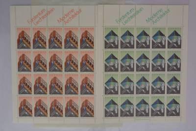 Postfr. Komplett N6 Liechtenstein 916/917 Kleinbogensatz 02