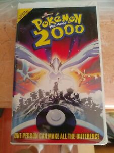 Pokemon The Movie 2000 Vhs 2000 Clamshell 85391862031 Ebay