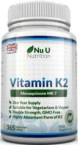 Vitamin-K2-Natural-Natto-MK7-200mcg-365-Vegetarian-and-Vegan-Tablets-UK-Made