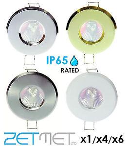 IP65 Soffit Outdoor Bathroom Shower LED Spot Lights Spotlights Downlights