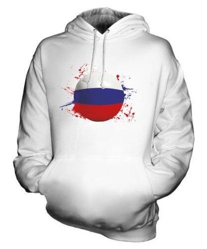 Russia Fútbol Sudadera Capucha Unisex Regalo Top Copa Del Mundo Deporte
