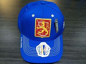2016 World Cup of Hockey Team Finland adidas Hat Cap Flex Flex Large ... 4ba6ce1d6ee6