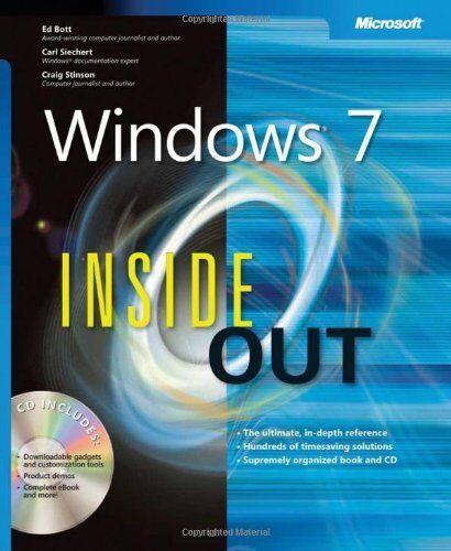 1 of 1 - Windows® 7 Inside Out,Ed Bott,Carl Siechert,Craig Stinson