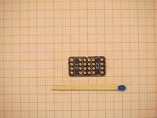 Mono OP auf Dual OP DIP DIY Platine ~ 22x11mm vergoldet für 2x OPA627 Burr Brown