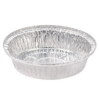 Pactiv Aluminum Round Disposable Container Pan Silver 24 Oz. | 250/case