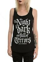Game Of Thrones The Night Is Dark And Full Of Terrors Ladies Tank Top