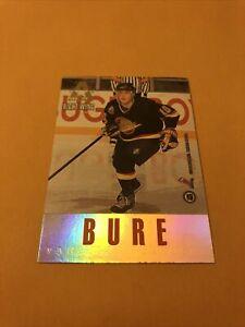 Pavel Bure Alexander Mogilny 93-94 Leaf Gold All Stars Club Card Canucks
