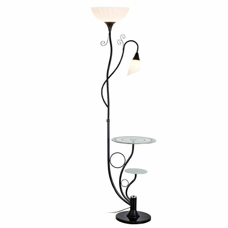 Home Floor Lamps Stand Led Bulb Light Elegant Design Bedroom Hallway Decoration