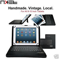 NXET Bluetooth Keyboard Case Cover For Samsung Galaxy Note 10.1 2014 P600 N8000
