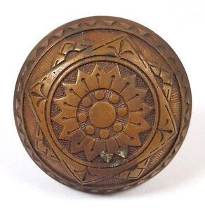 Image Is Loading Collectible Antique H218 Brass Sargent Doorknob Victorian  Door