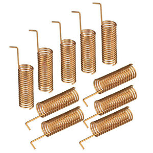 Details about 10 PACK - 433 MHZ Helical Antenna for Arduino Remote Control  (5 3 x 15 5mm)