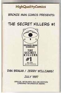 SECRET-KILLERS-1-Ashcan-Promo-Braum-1997-NM
