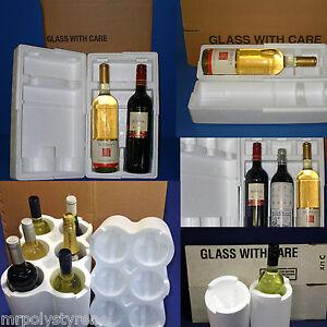 Vino-De-Espuma-Poliestireno-Expandido-Embalaje-Postal-de-botella-de-champagne-multilisting