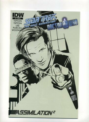 THE NEXT GENERATION DOCTOR WHO #4 1:10 INCENTIVE VARIANT COVER STAR TREK