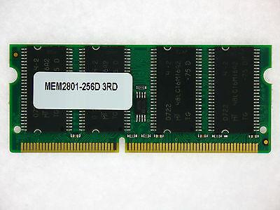 Mem2801-256d 256mb Dram Memory For Cisco 2801 Router De Mondholte Schoonmaken.