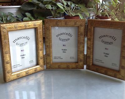 A Trio Of Photo Frames/hinged By: Marcelli Mint Latest Fashion New