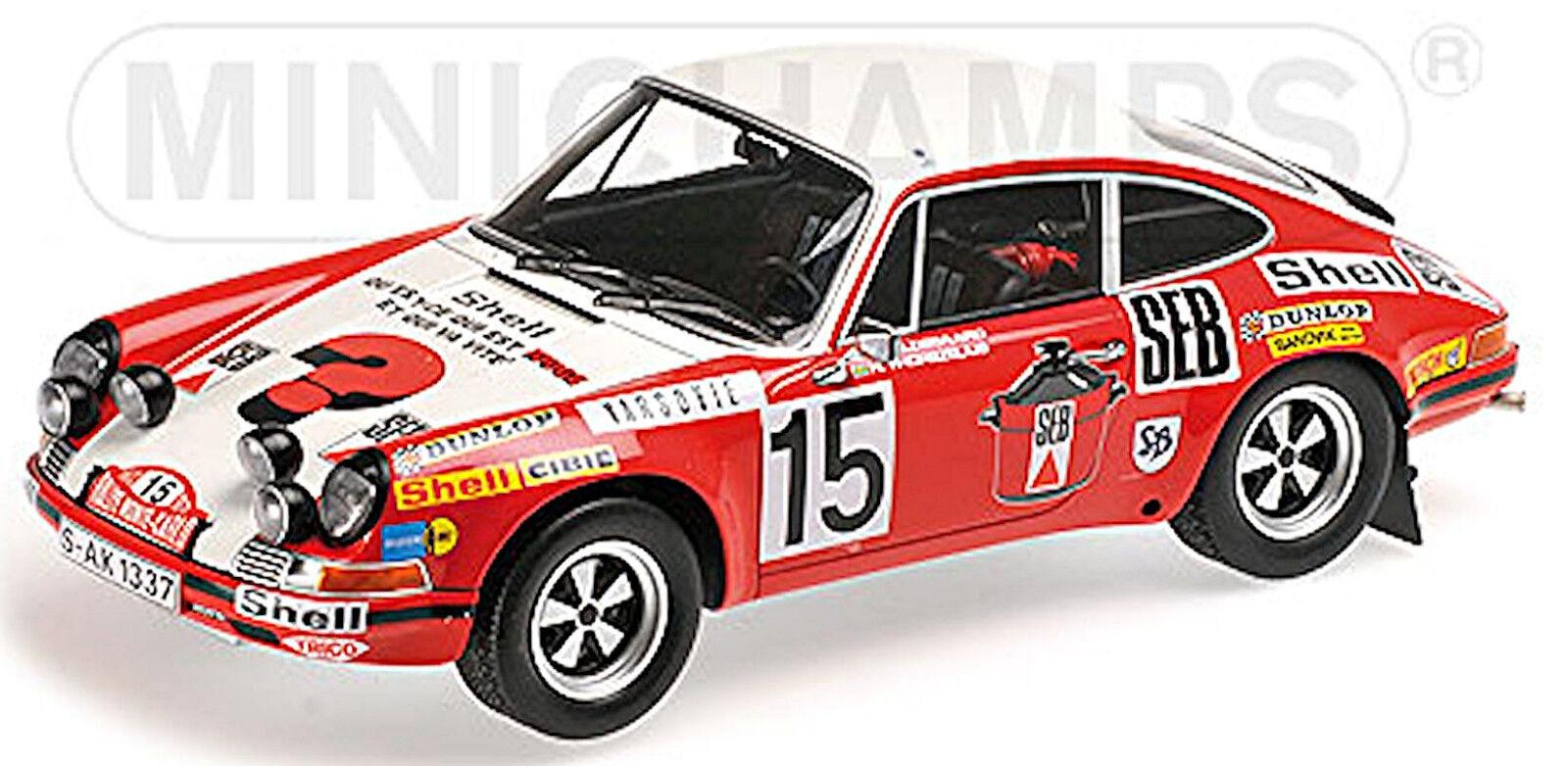 Porsche 911 s rallye monte carlo 1972  15 waldegard waldegard waldegard 1 18 MINICHAMPS 5d83e3