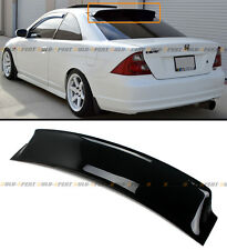FOR 01-05 EM2 7TH HONDA CIVIC 2DR COUPE JDM REAR ROOF WINDOW VISOR DEFLECTOR-HIC