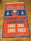 New York Islanders Champions 3x5 Feet Banner Flag NHL