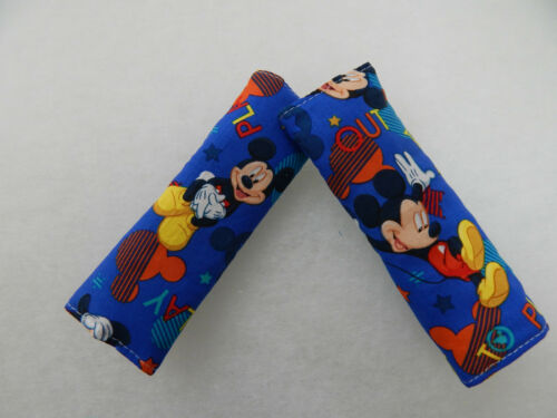 Mickey Mouse Out To Play Baby Seat Belt Strap Covers Car Highchair Stroller