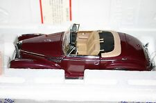 Franklin Nuovo di zecca Mercedes-Benz 300SC Dark Red in Scatola & Scartoffie