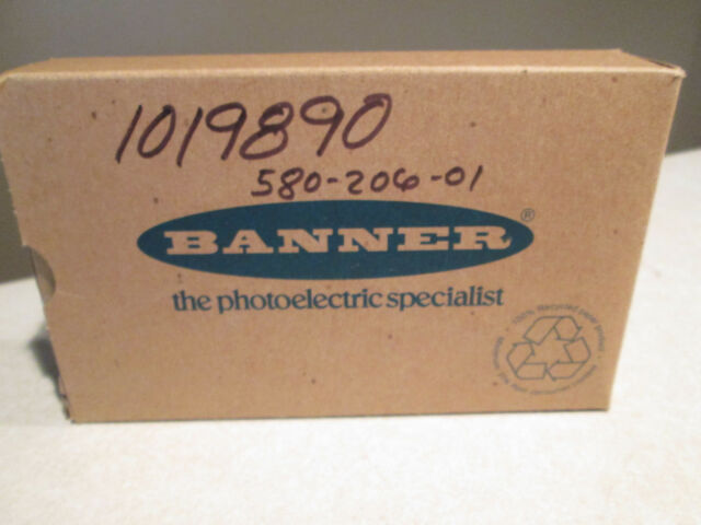 NEW IN BOX BANNER 63001 OUTPUT DELAY Q60BB6AF2000Q